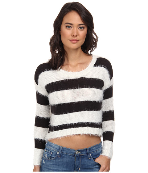 Billabong - Follow the Breeze Sweater (Off Black) Women's Sweater