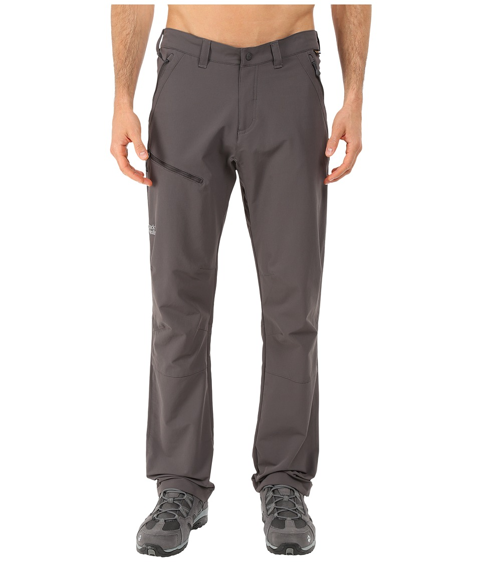 Jack Wolfskin - Activate Pants - Tall (Dark Steel) Men's Casual Pants