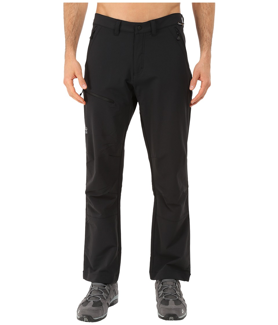 Jack Wolfskin - Activate Pants - Short (Black) Men's Casual Pants
