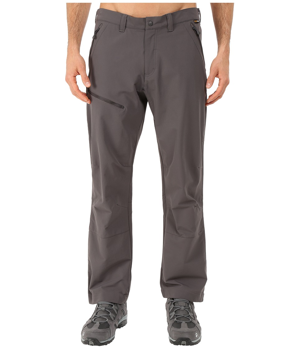 Jack Wolfskin - Activate Pants - Short (Dark Steel) Men's Casual Pants