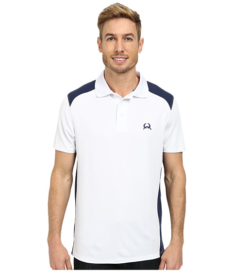 Cinch - Athletic Tech Polo (White) Men