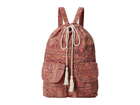 Billabong - Close to Bixby Drawstring Backpack (Ginger) Backpack Bags