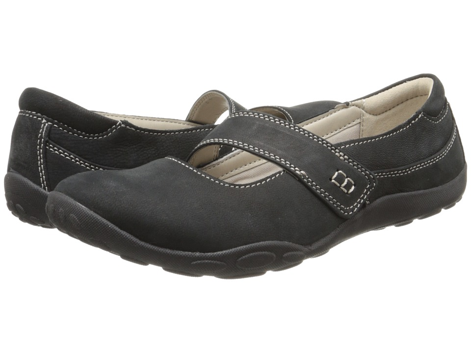 Clarks - Haley Skylar (Black Nubuck) Women's Shoes