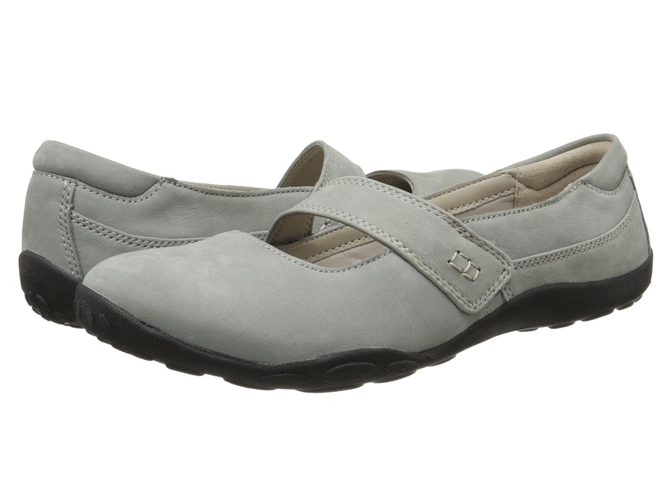 Clarks - Haley Skylar (Grey Nubuck) Women