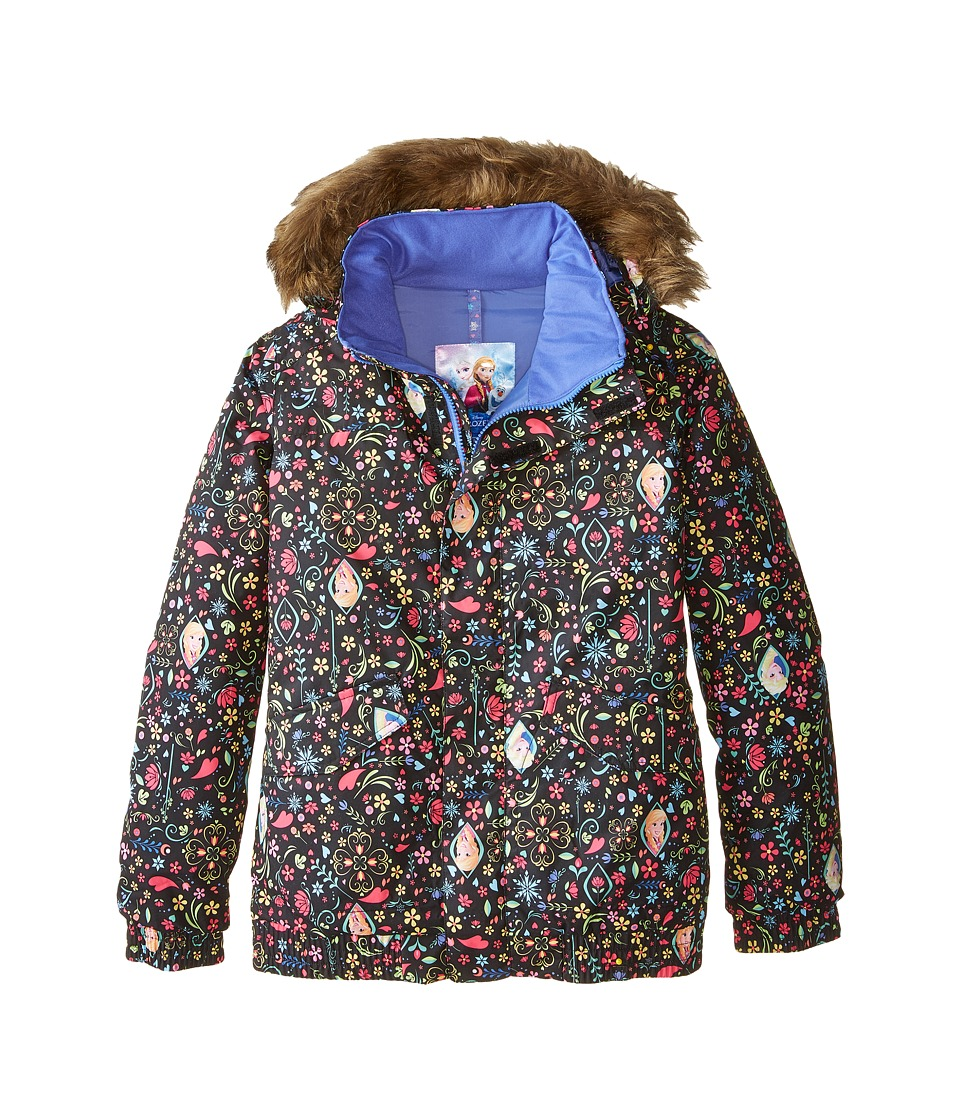 Burton Kids - Twist Bomber Jacket (Little Kids/Big Kids) (Elsa & Anna Frozen Print Disney) Girl