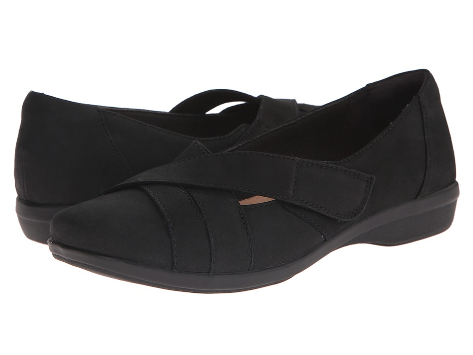 Clarks - Haydn Opal (Black Nubuck) Women's Shoes
