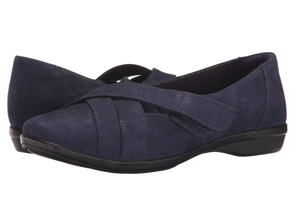 Clarks - Haydn Opal (Navy Nubuck) Women's Shoes