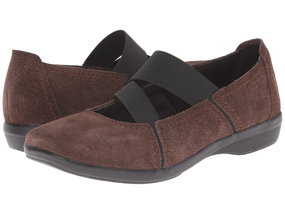 Clarks - Haydn Juniper (Brown Suede) Women's Shoes