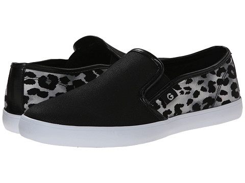 G by GUESS - Malden 4 (Black 1/Black/Grey 2 Shine) Women's Slip on Shoes