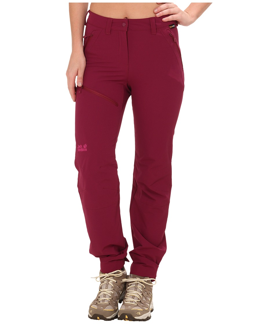 Jack Wolfskin - Activate Pants (Wild Berry) Women's Casual Pants