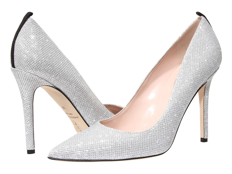 SJP by Sarah Jessica Parker - Fawn 100mm (Silver Luminor) Women's Shoes