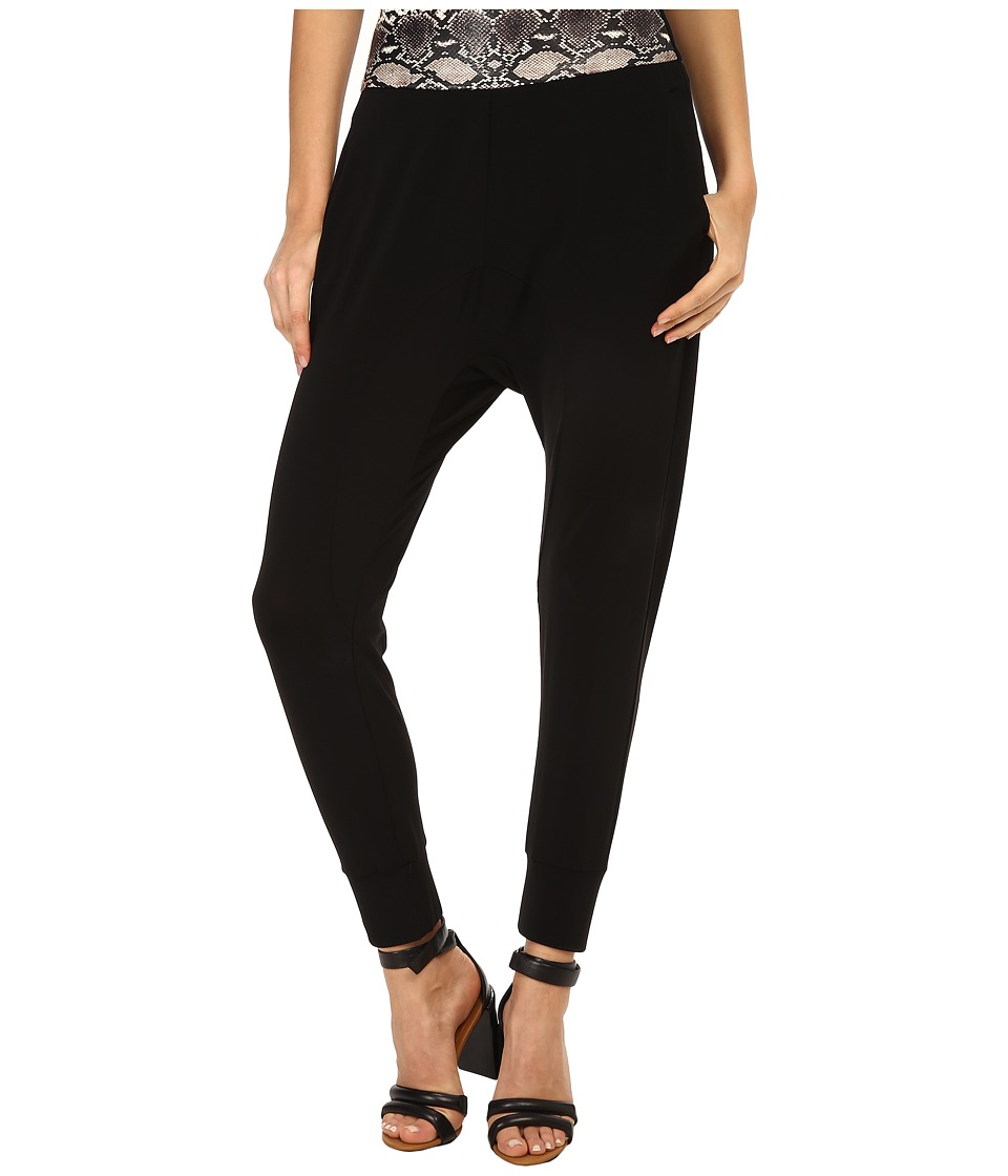 Neil Barrett - NPA322C (Black/Natural Pitone) Women's Casual Pants
