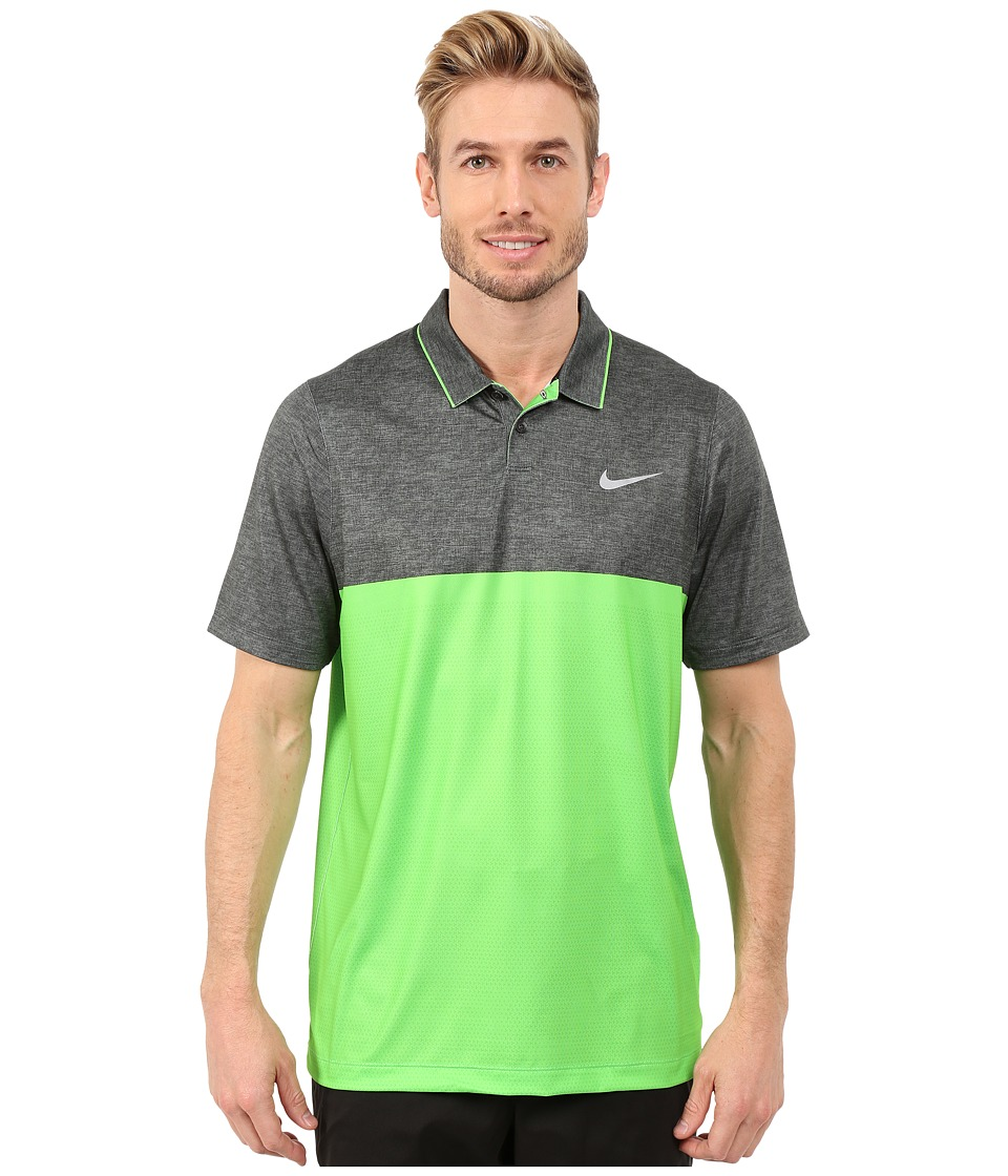 Nike Golf - Momentum Camo Polo (Green Strike/Green Strike/Black/Wolf Grey) Men's Clothing