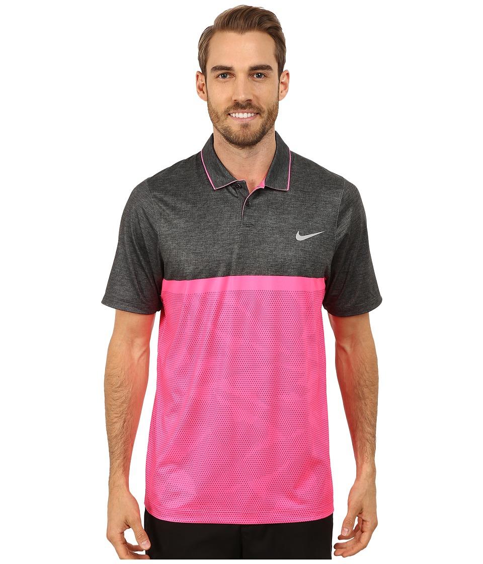 Nike Golf - Momentum Camo Polo (Sport Fuchsia/Sport Fuchsia/Pink Powder/Wolf Grey) Men's Clothing