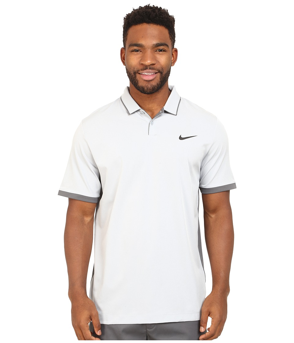 Nike Golf - Mobility Woven Polo (Wolf Grey/Heather/Dark Grey/Anthracite) Men's Clothing