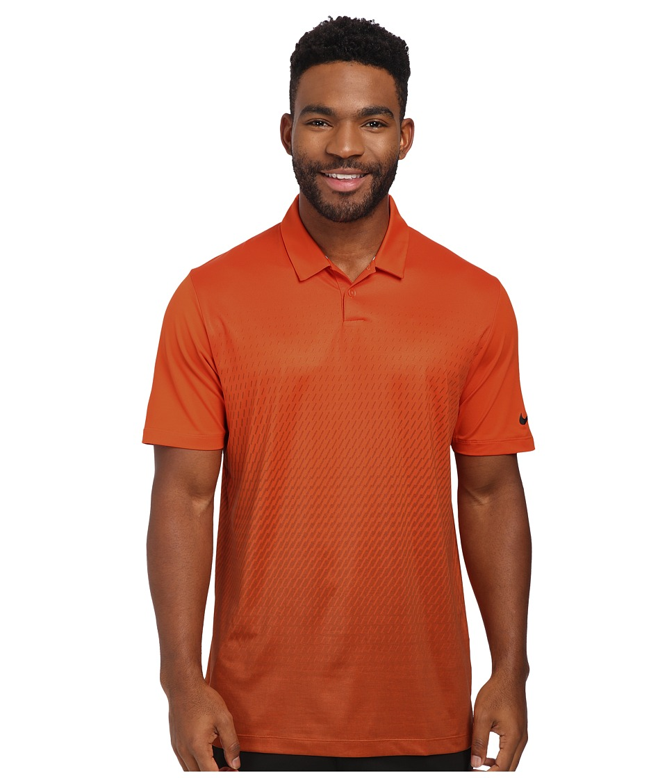 Nike Golf - Mobility Fade Print Polo (Electro Orange/Wolf Grey/Anthracite) Men's Clothing