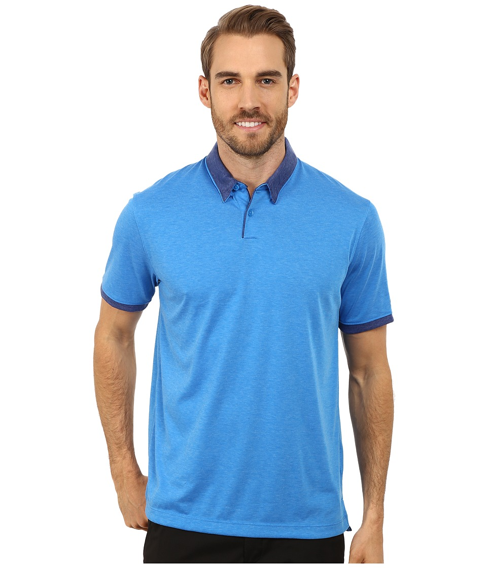 Nike Golf - Transition Heather Polo (Photo Blue/Heather/Deep Royal Blue/Anthracite) Men