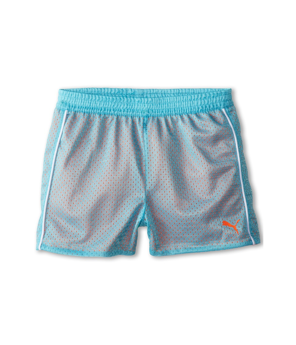 Puma Kids - Double Mesh Shorts (Big Kids) (Faster Blue) Girl's Shorts