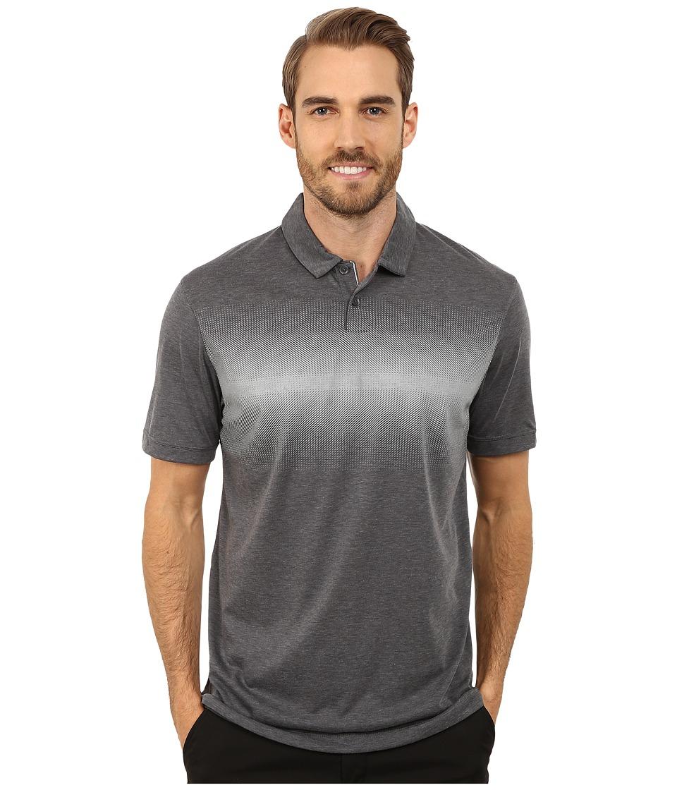 Nike Golf - Transition Print Polo (Dark Grey/Wolf Grey/Wolf Grey) Men