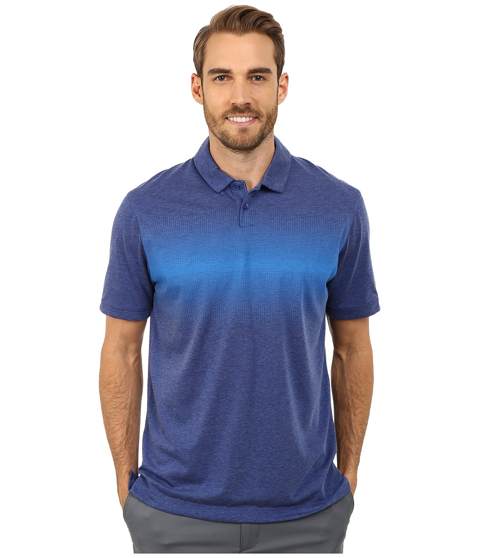 Nike Golf - Transition Print Polo (Deep Royal Blue/Photo Blue/Wolf Grey) Men