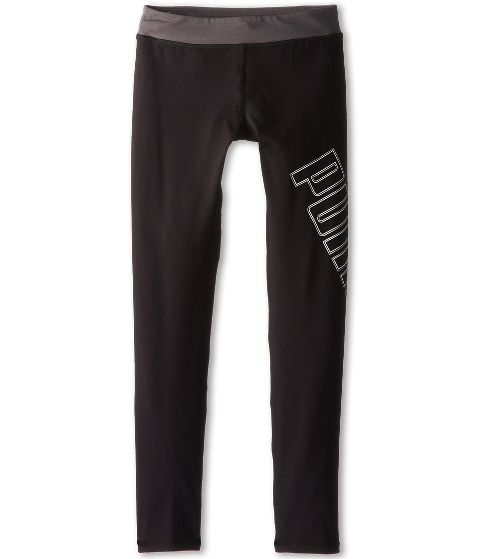 Puma Kids - Tech Leggings (Big Kids) (PUMA Black) Girl's Casual Pants