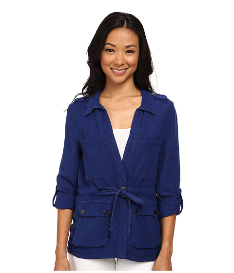 Sanctuary - Day Trip Jacket (Ocean Ink) Women's Coat