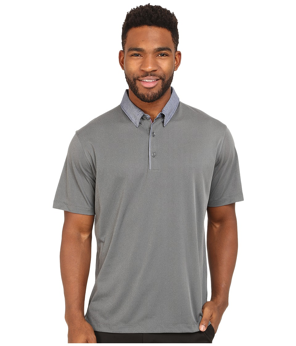 Nike Golf - Transition Chambray Polo (Dark Grey/Anthracite/Wolf Grey) Men