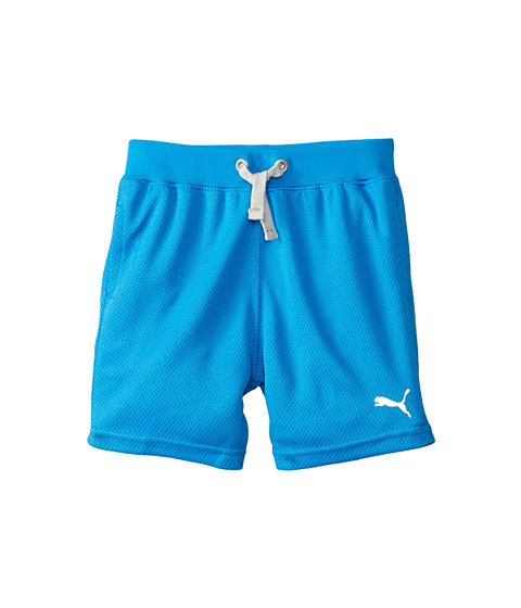 Puma Kids - Core Shorts (Toddler) (Sky Blue) Boy's Shorts