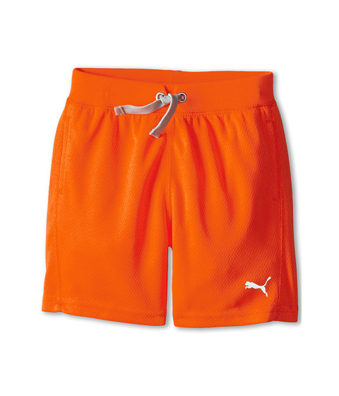 Puma Kids - Core Shorts (Toddler) (Fire Orange) Boy