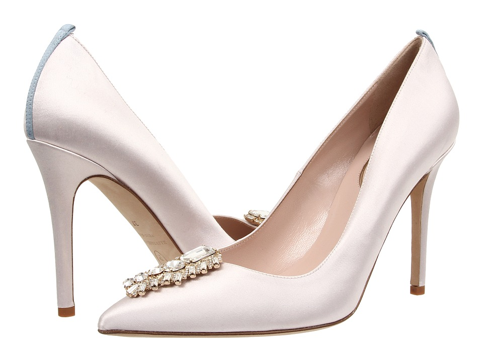 SJP by Sarah Jessica Parker - Tempest (Blush Satin) Women's Shoes