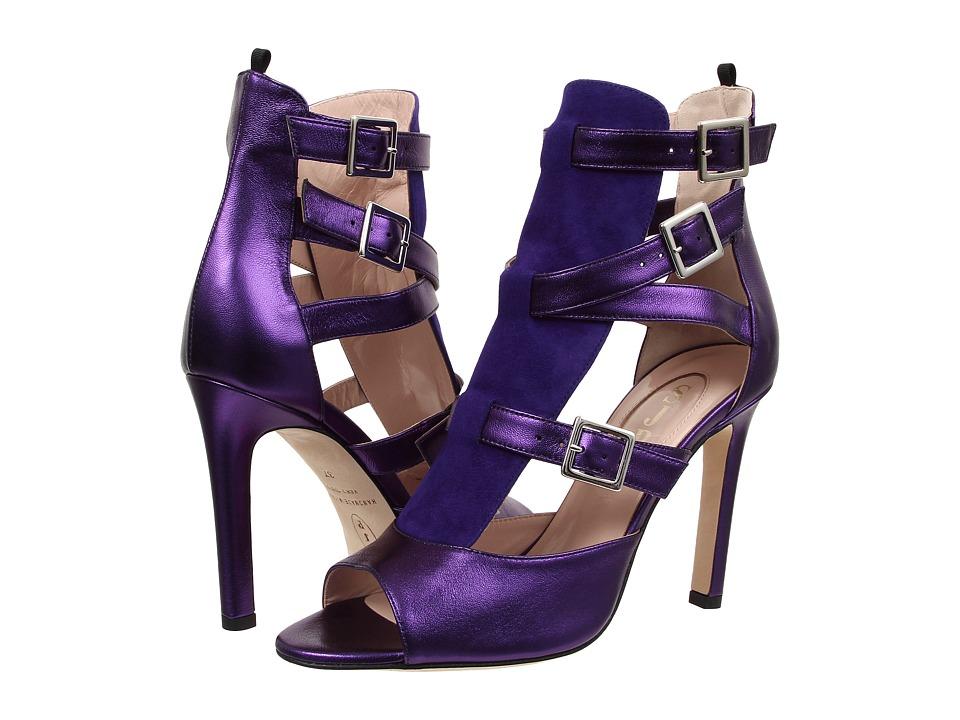 SJP by Sarah Jessica Parker - Gina (Purple Suede/Nappa) Women