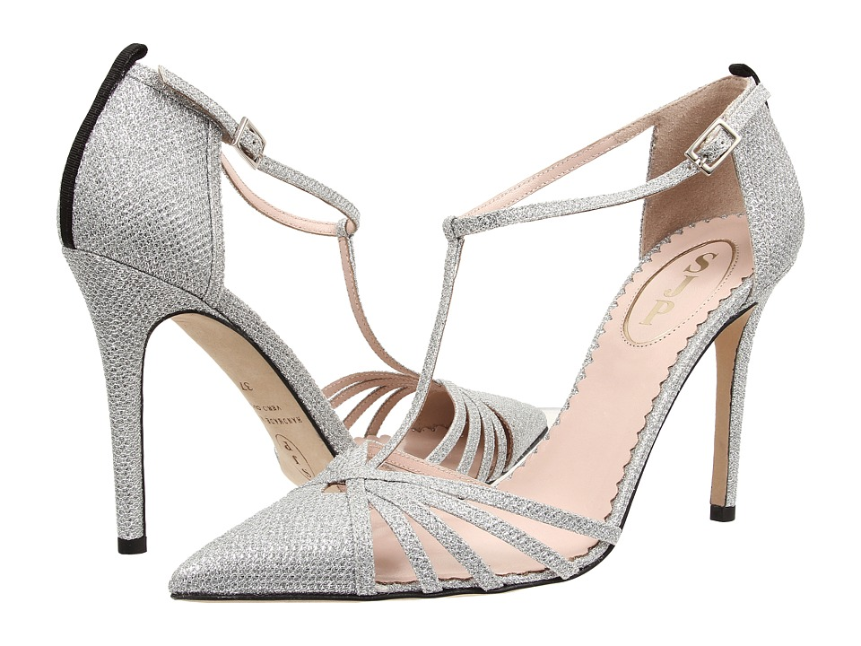 SJP by Sarah Jessica Parker - Carrie (Silver Luminor) Women's Shoes