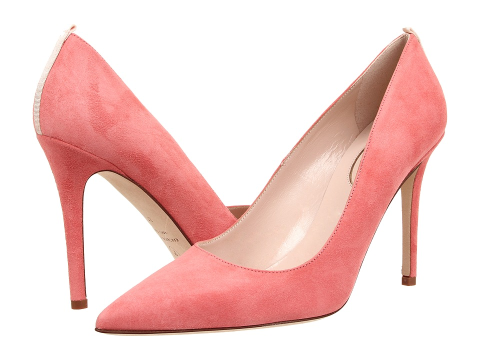 SJP by Sarah Jessica Parker - Fawn 100mm (Coral Suede) Women