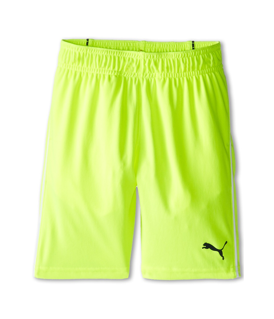 Puma Kids - Pure Core Shorts (Little Kids) (Acid Yellow) Boy's Shorts