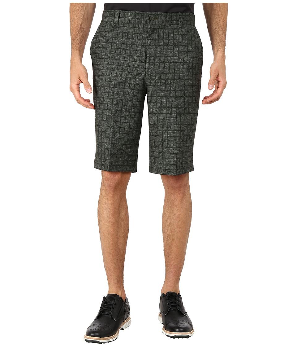 Nike Golf - Plaid Short (Cargo Khaki/Anthracite/Wolf Grey) Men's Shorts