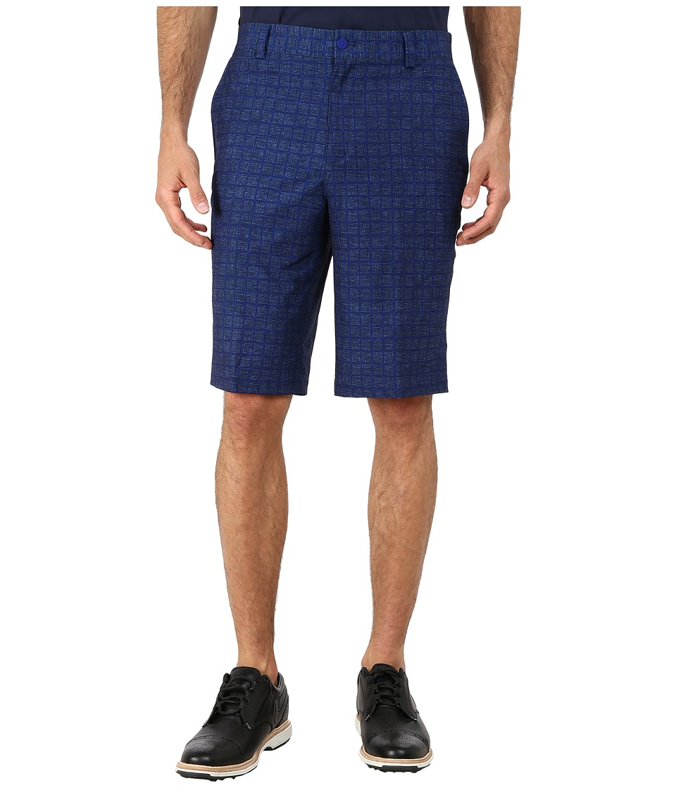 Nike Golf - Plaid Short (Deep Royal Blue/Anthracite/Wolf Grey) Men's Shorts