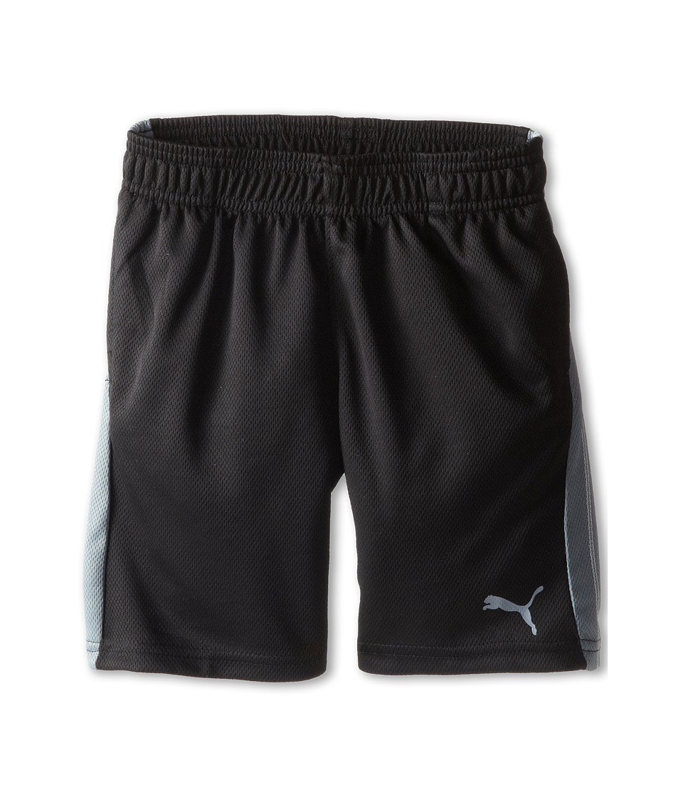Puma Kids - Form Stripe Shorts (Little Kids) (PUMA Black) Boy's Shorts