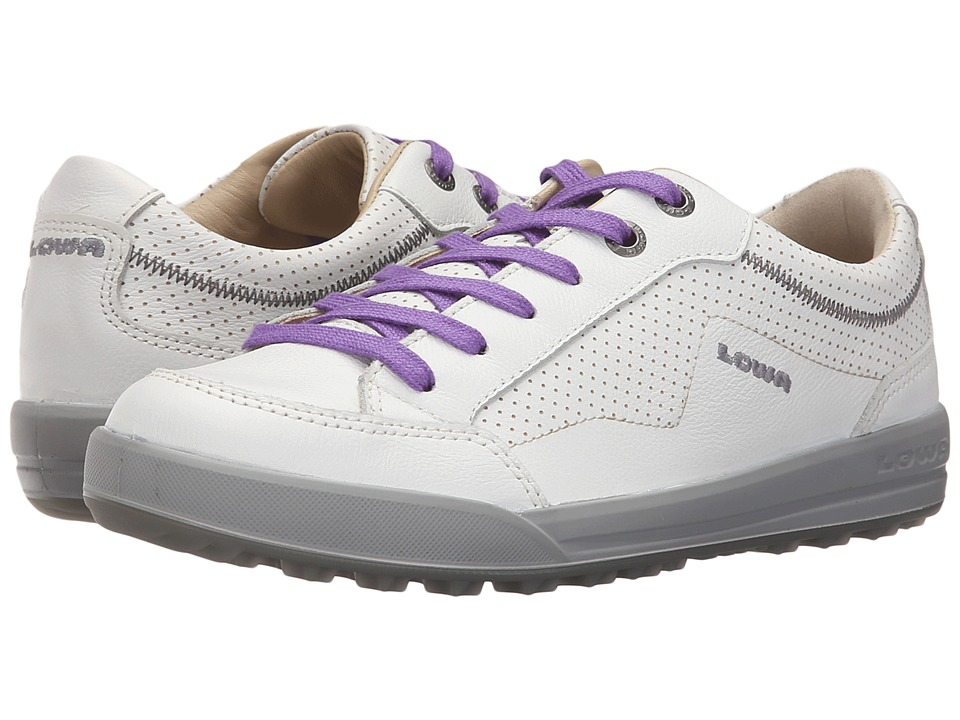 Lowa - Merion (White/Lilac) Women's Shoes