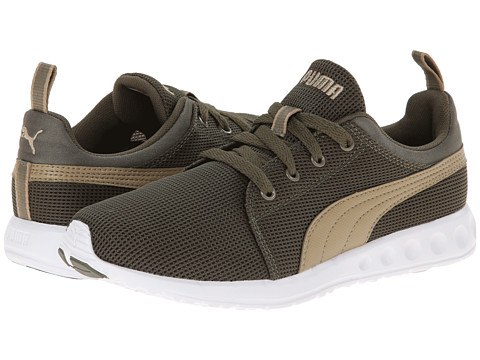PUMA - Carson Runner (Burnt Olive/Cornstalk) Women's Shoes