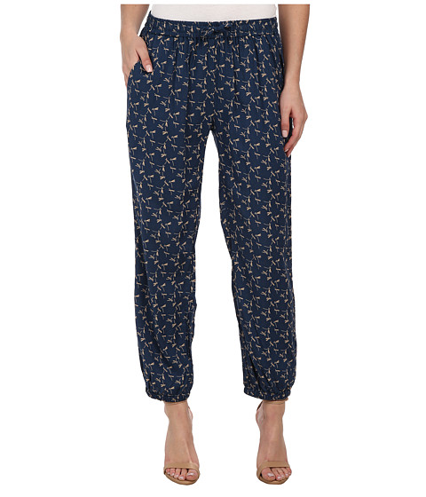 J.A.C.H.S. - Elastic Waist Pants (Blue) Women's Casual Pants