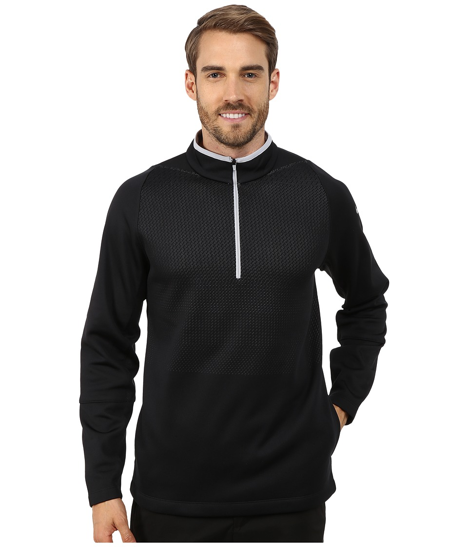 Nike Golf - Hypervis 1/2 Zip Top 2.0 (Black/Wolf Grey/Black/Wolf Grey) Men