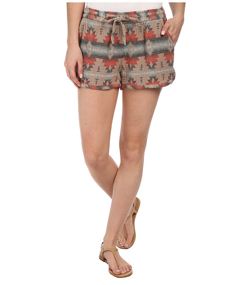 J.A.C.H.S. - Aztec Shorts (Beaver) Women