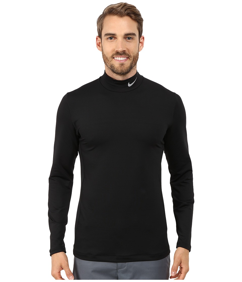 Nike Golf - Hyperwarm Base Layer (Black/Wolf Grey) Men's Clothing