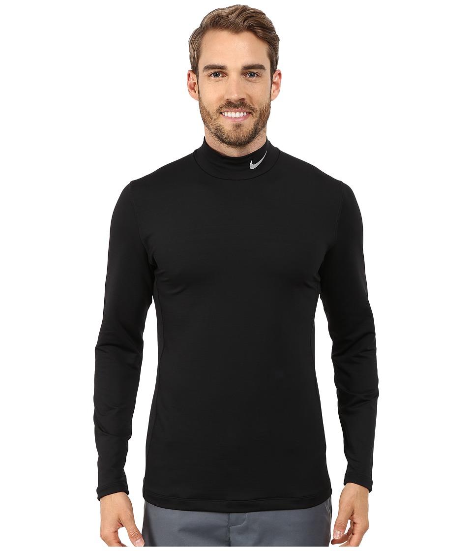 Nike Golf - Hyperwarm Base Layer (Black/Wolf Grey) Men's Clothing