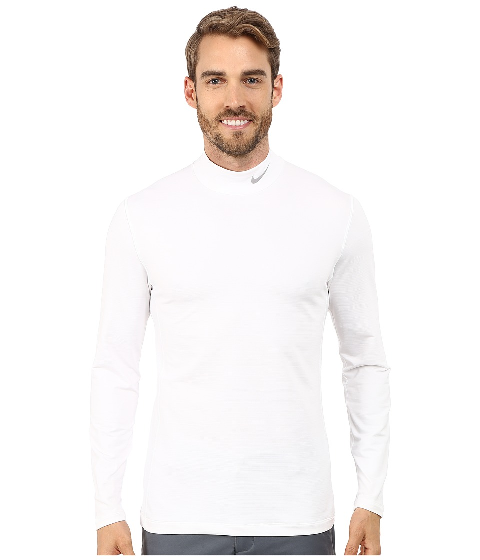 Nike Golf - Hyperwarm Base Layer (White/Wolf Grey) Men's Clothing