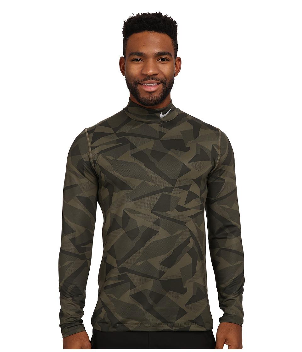 Nike Golf - Hyperwarm Base Layer (Cargo Khaki/Wolf Grey) Men