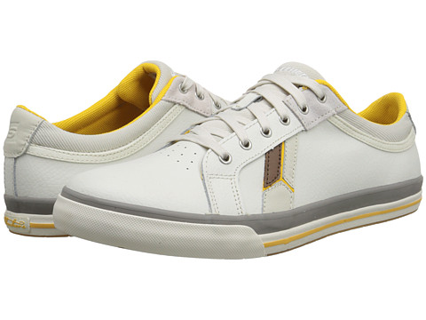 SKECHERS - Diamonback - Karter (Off White) Men's Lace up casual Shoes
