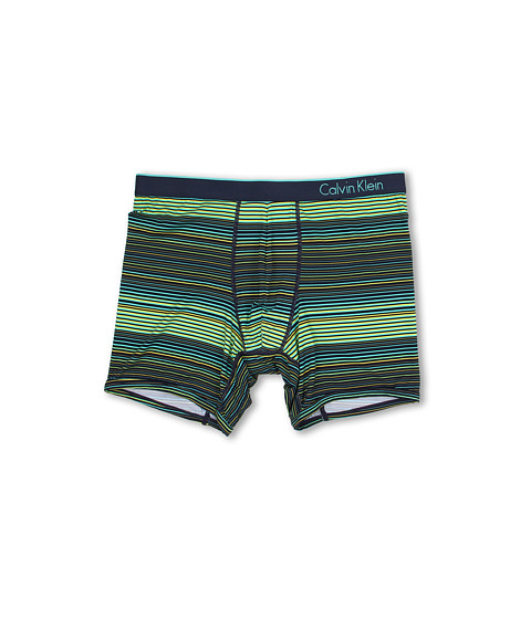 Calvin Klein Underwear - ck one Boxer Brief (Sky Stripe/Blue Shadow Waistband) Men
