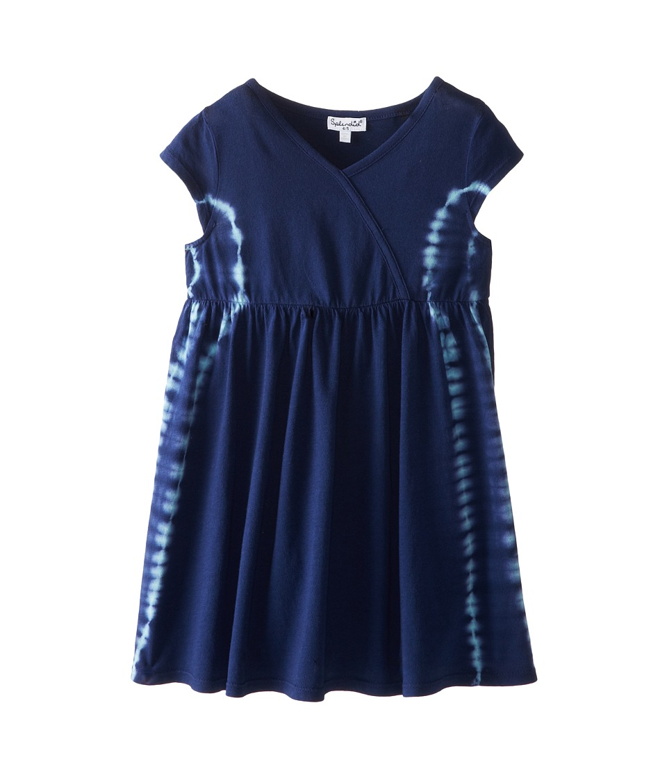 Splendid Littles - Tie-Dye Dress (Little Kids) (Indigo) Girl's Dress