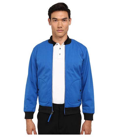 Marc by Marc Jacobs - Neoprene Jacket (Blue) Men